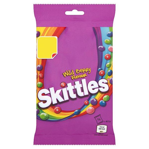 Skittles Wild Berry Bag 125g PM £1