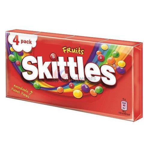 Skittles Fruit 4pk (4 x 45g)