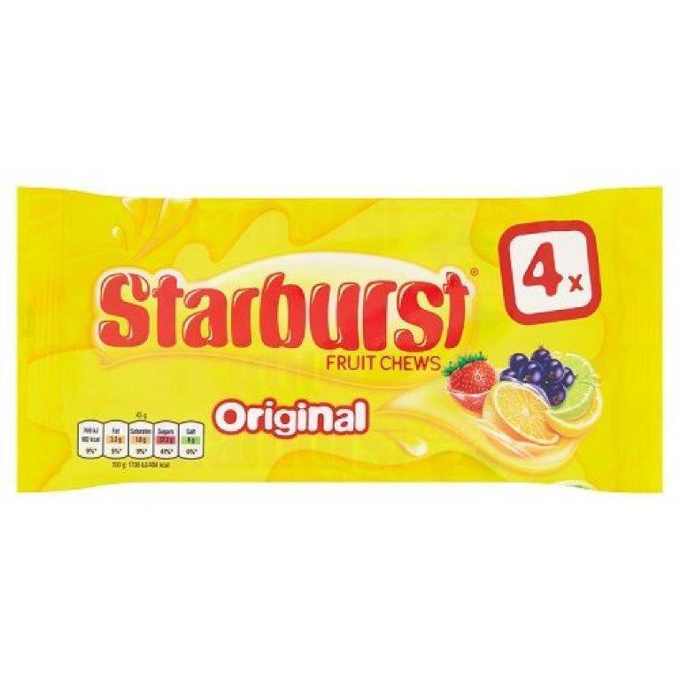 Starburst Original 4pk (4 x 45g)