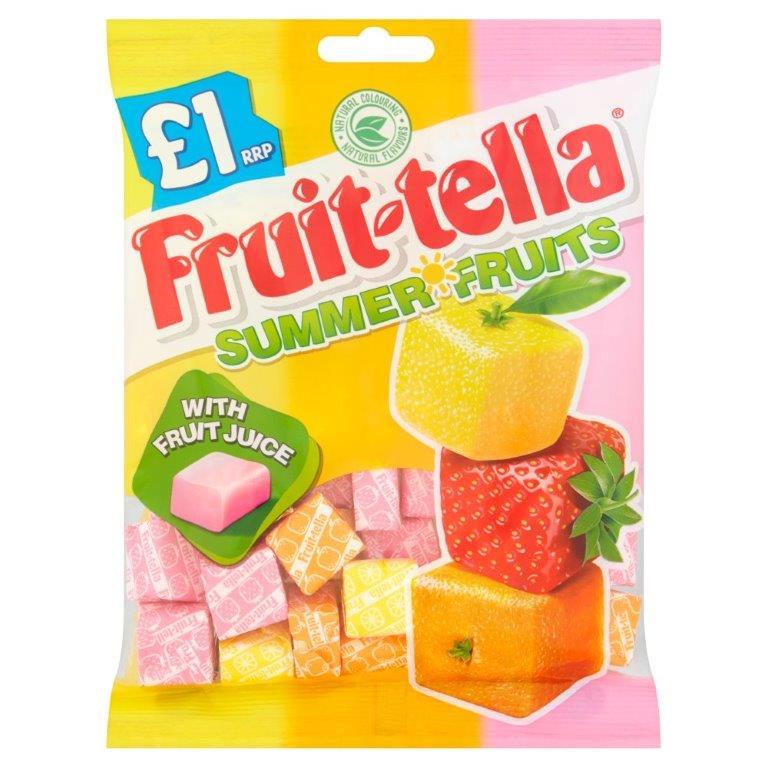 Fruitella Summer Fruits Bag 135g PM £1