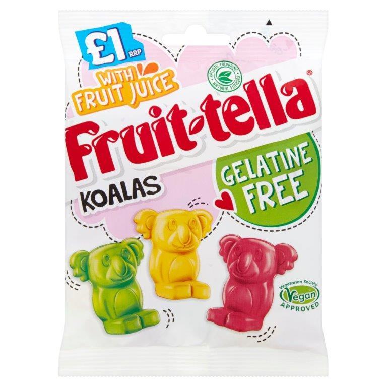 Fruittella Vegan/Gelatine Free Koala Bag 100g PM £1