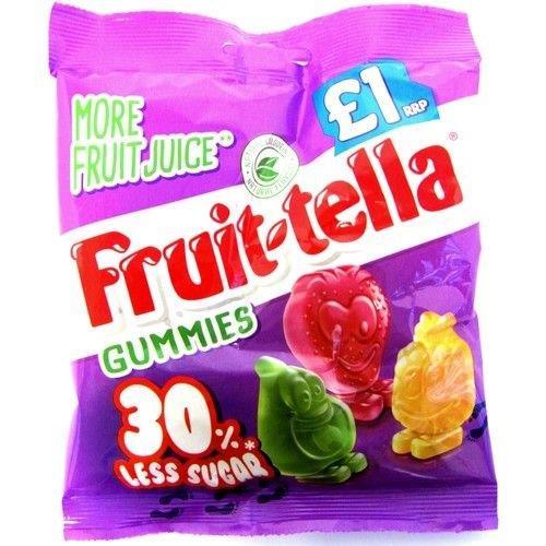 Fruitella Gummies 30% Less Sugar 100g PM £1