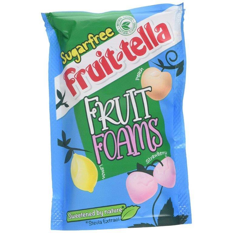 Fruitella Fruit Foams Sugar Free Pouch 80g