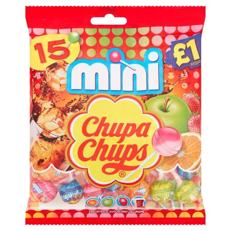 Chupa Chups Minis 15pk (15 x 6g)