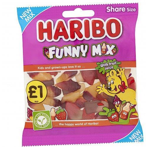 Haribo Funny Mix 160g PM £1