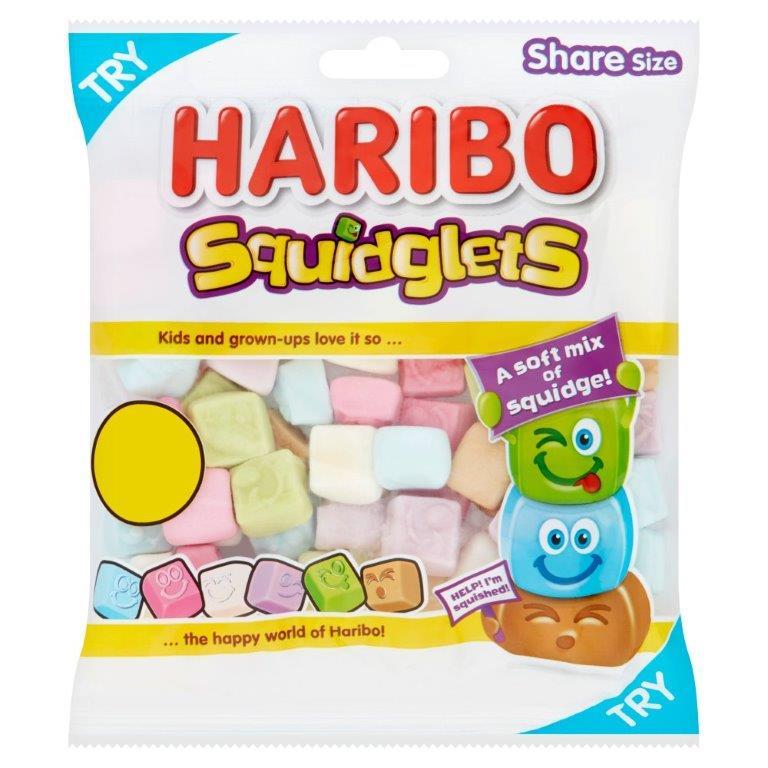 Haribo Squidglets 160g PM £1