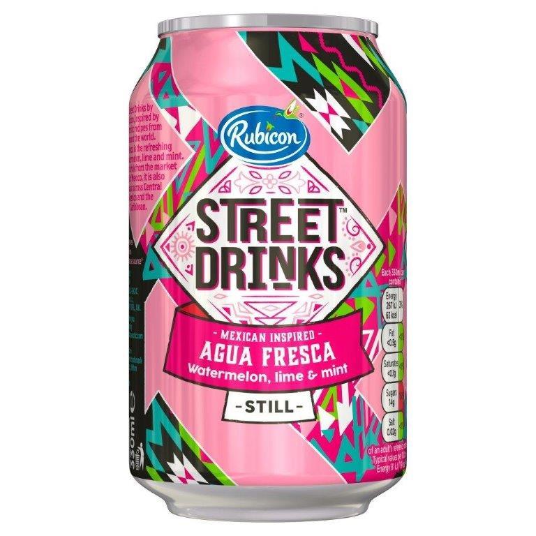 Rubicon Street Aqua Fresca 330ml