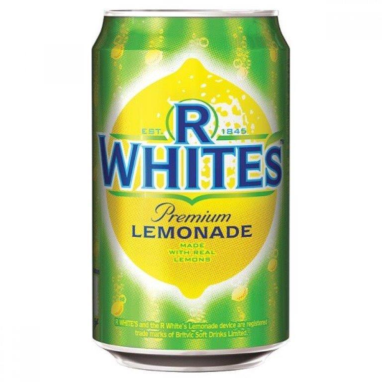 R Whites Lemonade 330ml
