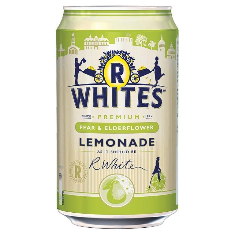 R Whites Pear & Elderflower Lemonade 330ml