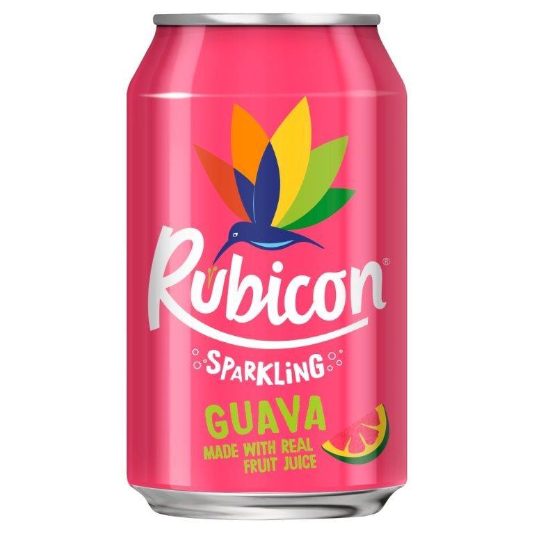 Rubicon Sparkling Guava 330ml