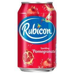 Rubicon Sparkling Pomegranate 330ml (Picture Is Old Design)
