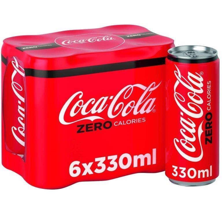 Coca Cola Zero 6pk (6 x 330ml) PM £2.75