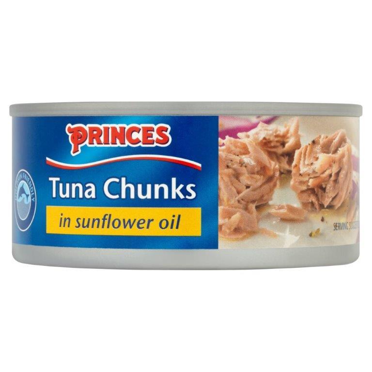 Princes Tuna Chunks In Sunflower Oil 160g