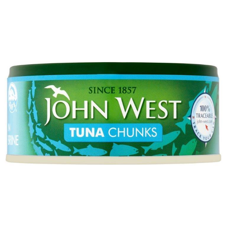 John West Tuna Chunks Brine 145g