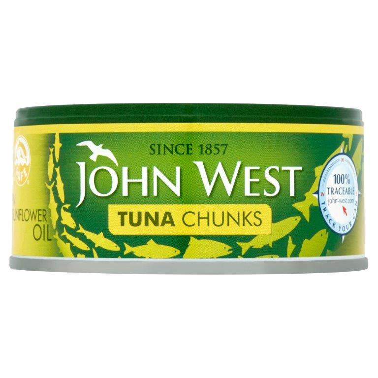 John West Tuna Chunks Sunflower Oil 145g