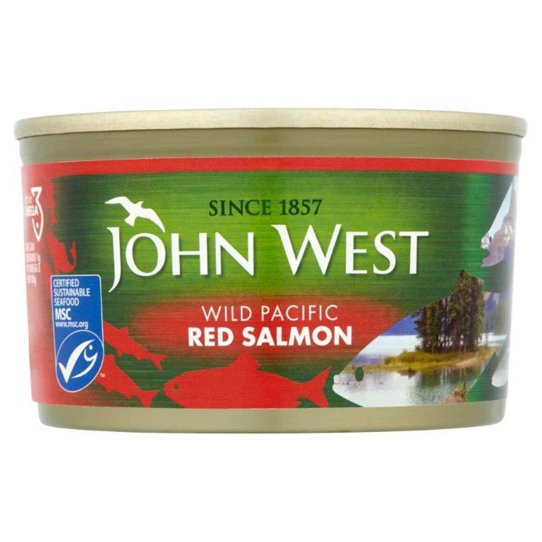 John West Red Salmon Wild 213g
