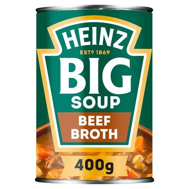 Heinz Big Soup Beef Broth 400g