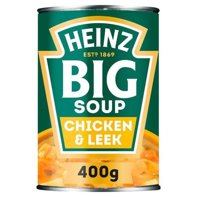 Heinz Big Soup Chicken & Leek 400g