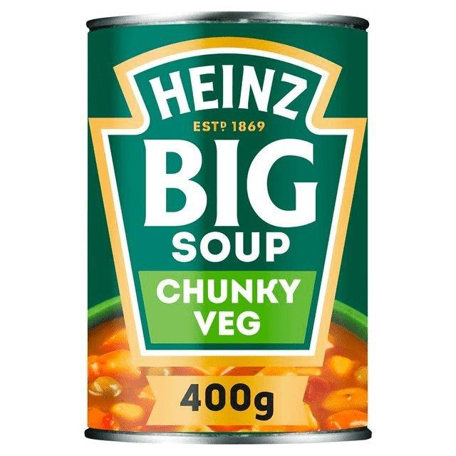 Heinz Big Soup Chunky Vegetable 400g