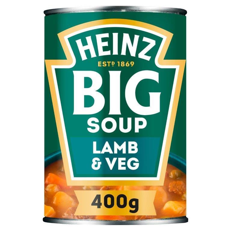 Heinz Big Soup Lamb & Vegetable 400g