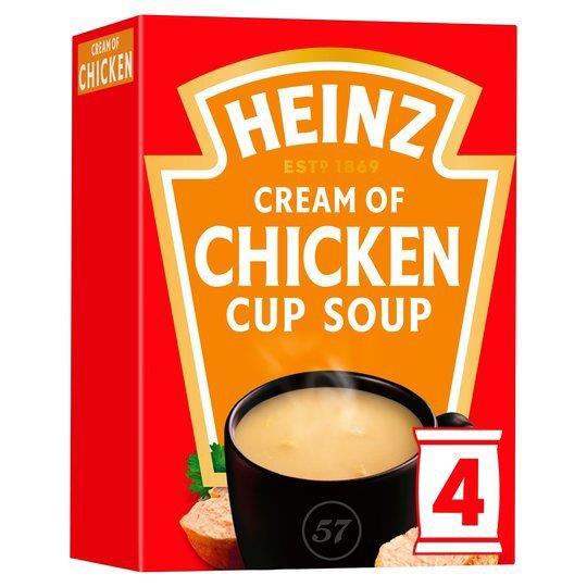Heinz Cup Soup Chicken 4pk (4 x 68g)