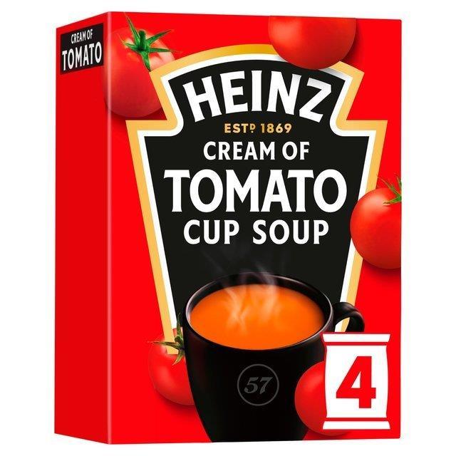 Heinz Cup Soup Tomato 4pk (4 x 88g)