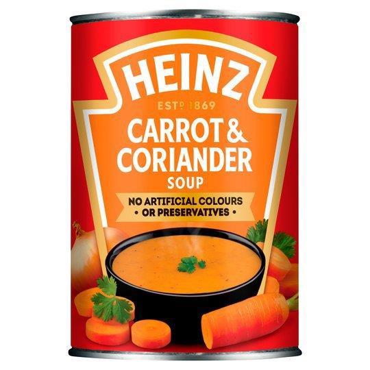 Heinz Soup Can Carrot & Coriander Soup 400g