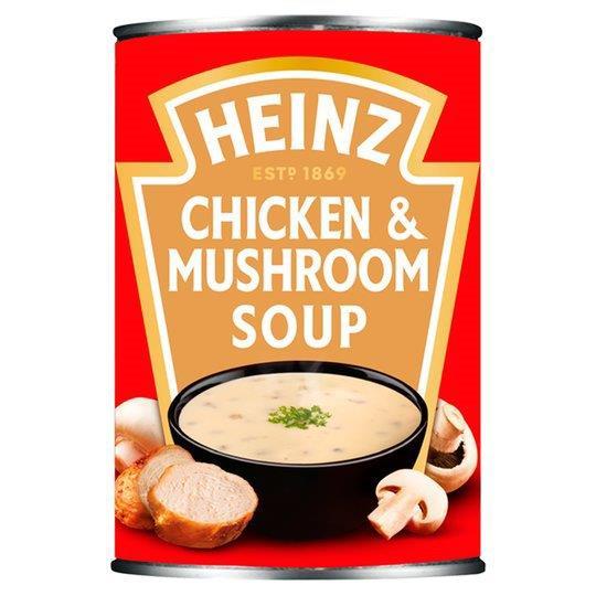 Heinz Soup Can Creamy Chicken Mushroom 400g
