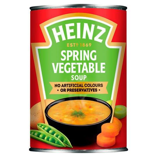 Heinz Soup Can Spring Vegetable 400g