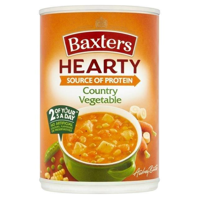 Baxters Hearty Country Vegetable Can Soup 400g