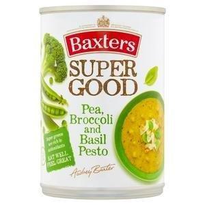 Baxters Super Good Pea/Brocolli/Basil/Pesto Can Soup 400g