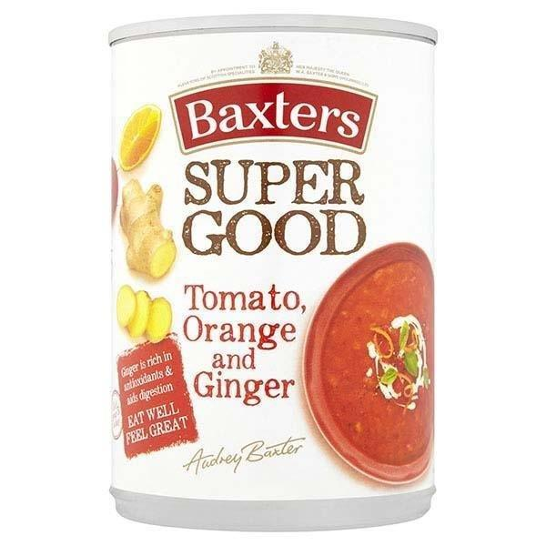 Baxters Super Good Tomato/Orange/Ginger Can Soup 400g