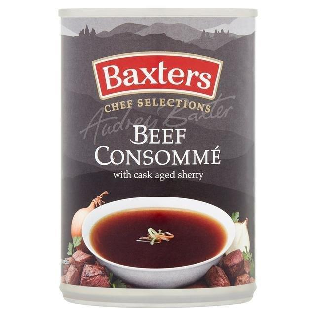 Baxters Luxury Beef Consomme Can Soup 400g