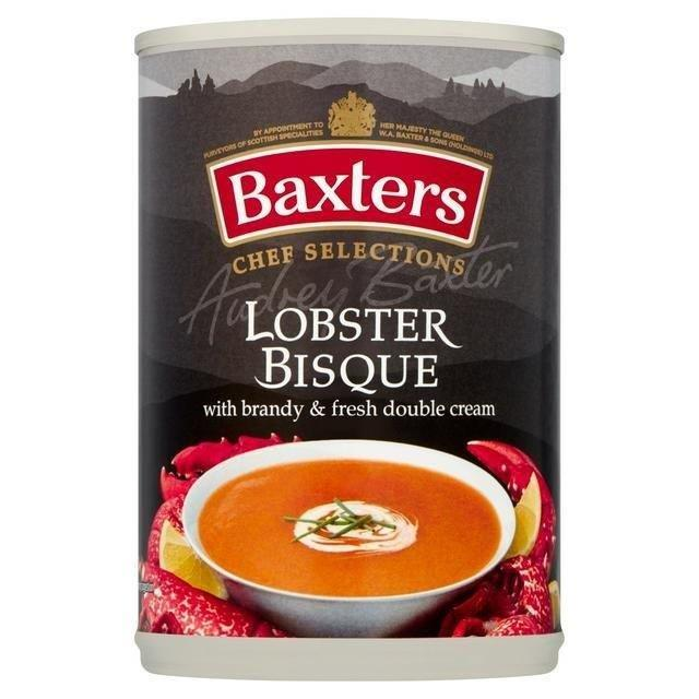 Baxters Luxury Lobster Bisque Can Soup 400g (Contains Alcohol)