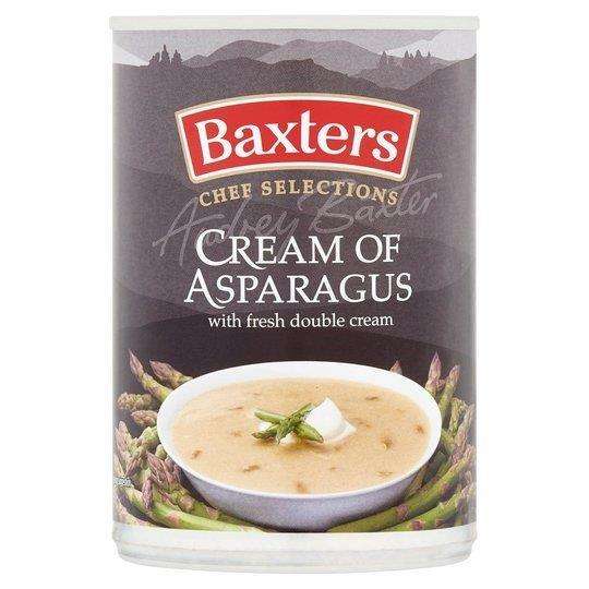 Baxters Luxury Cream Of Asparagus Can Soup 400g