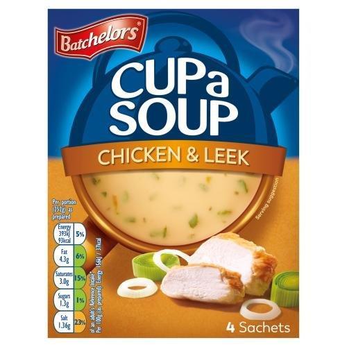 Batchelors Cup A Soup Sachets 4's Chick & Leek 86g