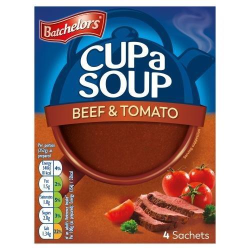 Batchelors Cup A Soup Sachets 4's Beef & Tom 88g