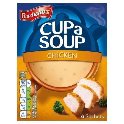 Batchelors Cup A Soup Sachets 4' Chicken 81g