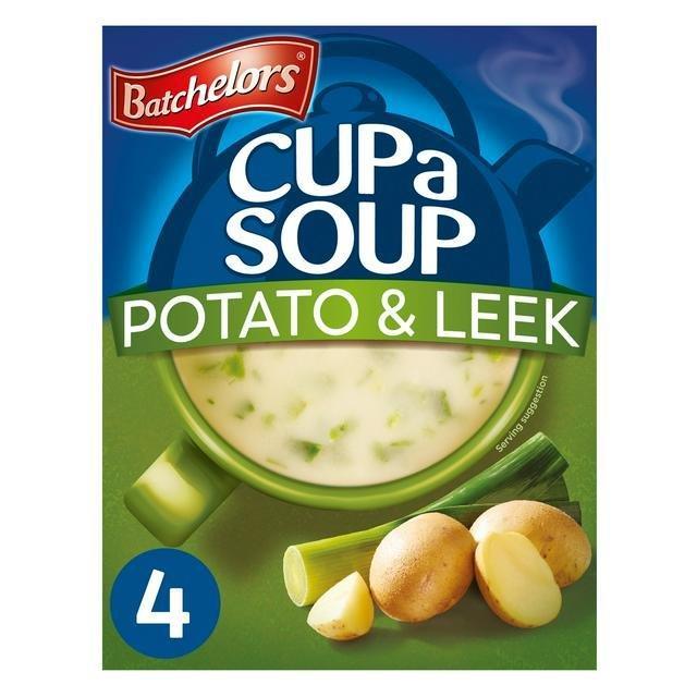 Batchelors Cup A Soup Sachets 4's Creamy Pot & Leek 107g