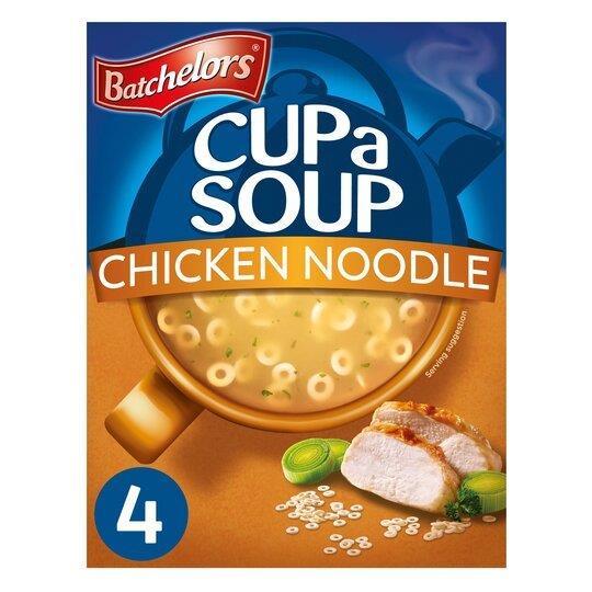 Batchelors Cup A Soup Sachets 4's Chick Noodle 94g