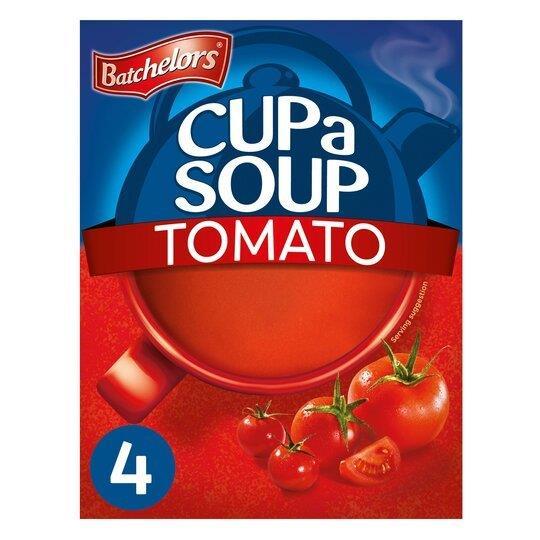 Batchelors Cup A Soup Sachets 4's Tomato 93g