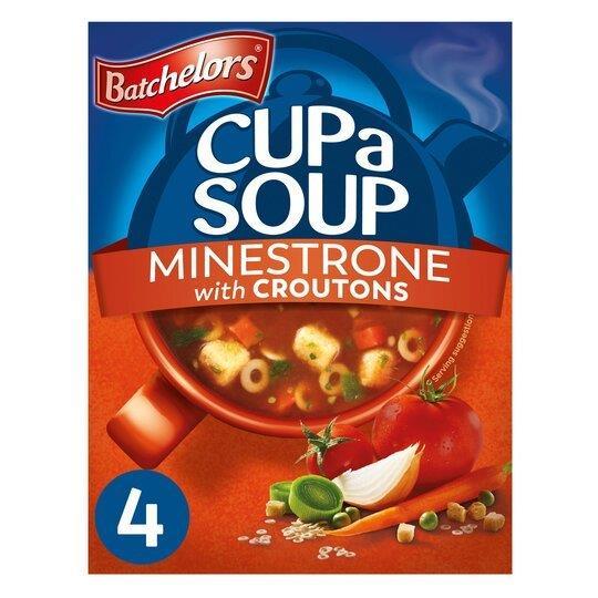 Batchelors Cup A Soup Sachets 4's Minestrone 94g