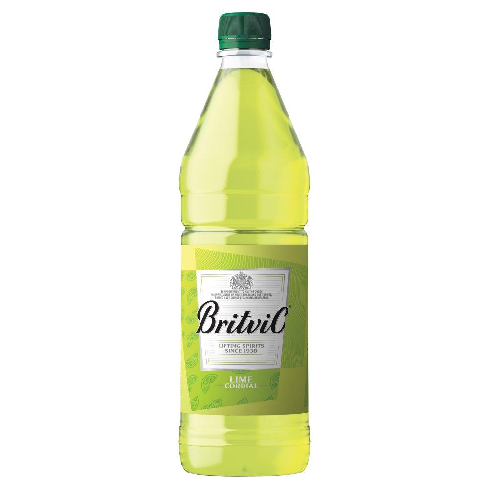 Britvic Lime Cordial PET 1L