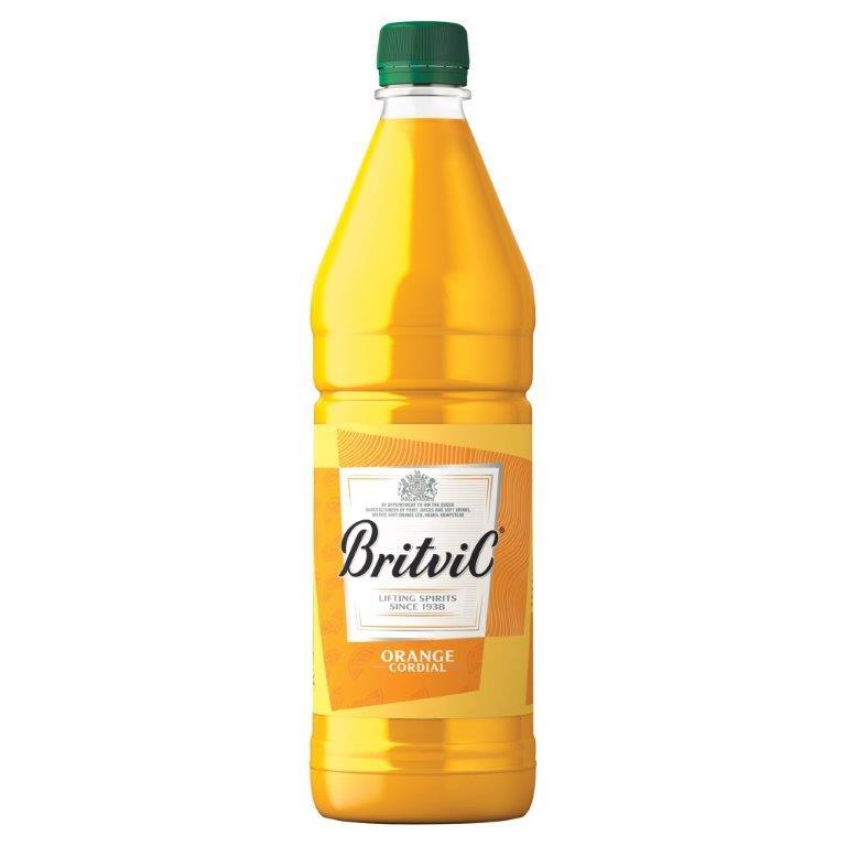 Britvic Orange Cordial PET 1L