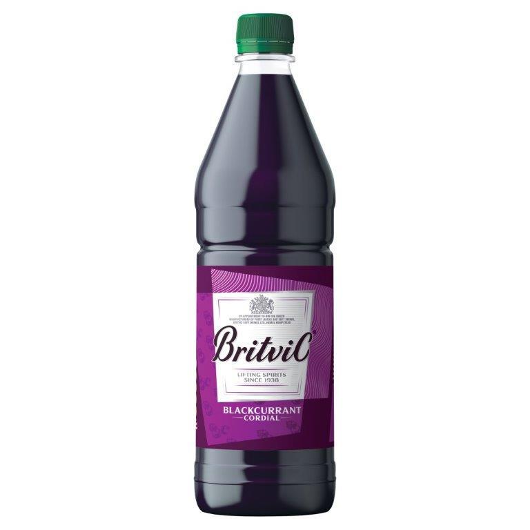 Britvic Blackcurrant Cordial PET 1L