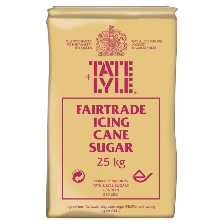 Tate & Lyle Icing Sugar 25kg