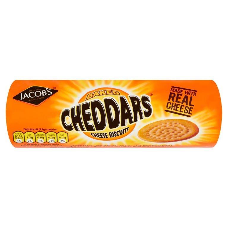 Jacob's Cheddars 150g PM £1.39
