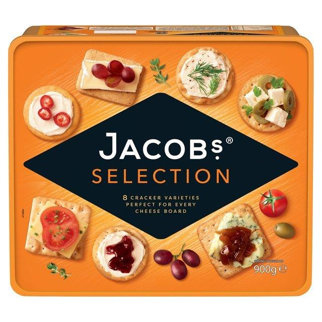 Jacob's Biscuits For Cheese 900g