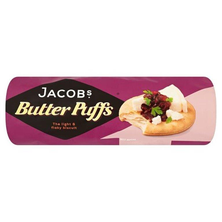 Jacob's Butterpuffs 200g