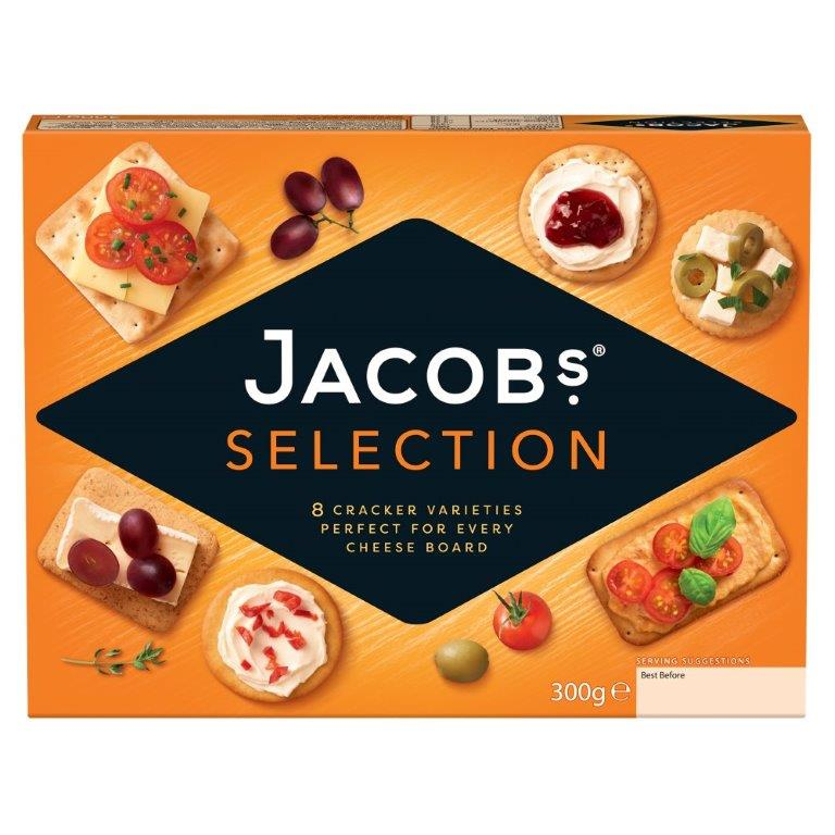 Jacob's Biscuit For Cheese 300g